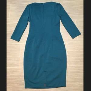 Boden Dresses - Boden Connie ponte dress dark cyan